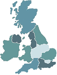 clickable UK map
